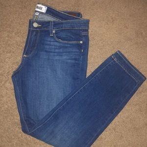PAIGE Skyline Ankle Peg Skinny Jeans 31